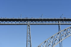 Close up of Bridge of Porto Royalty Free Stock Photo