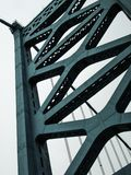 Close Up of the bridge in the United States Royalty Free Stock Photos