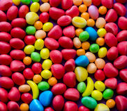 Close-up of bright colorful candies Royalty Free Stock Photo
