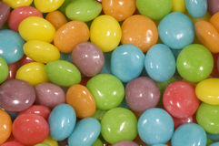 Close-up of bright coloured candy sweets Stock Photos
