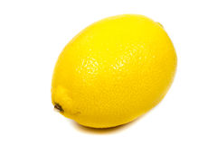 Close-up bright yellow lemon Stock Photo