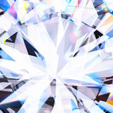 Close up of brilliant diamond. Abstract background ,close up of brilliant diamond royalty free illustration