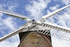 Close-Up of British Windmill Royalty Free Stock Images