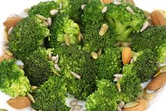 Close up of broccoli salad. Stock Images