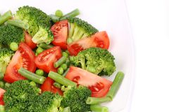 Close up of broccoli salad. Royalty Free Stock Photo