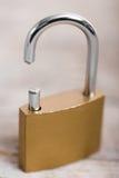 Close-up of an broken padlock Royalty Free Stock Photos