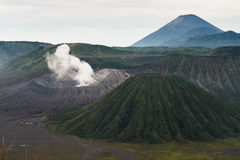 Close up of Bromo volcano Stock Photography