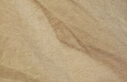 Brown cotton fabric texture and background Stock Images