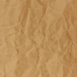 Close up of brown crinkle paper Stock Image