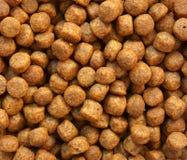 Close up of brown dog food Stock Photos