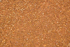 Close up for brown and orange gravel rock texture and background Stock Photo