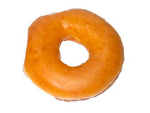 Close up of Brown Original Donut Royalty Free Stock Photography