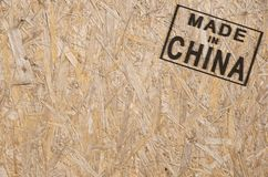 Made in CHINA corner Stock Photography