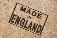 Made in ENGLAND Royalty Free Stock Image