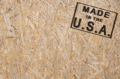 Made in the USA corner Stock Image