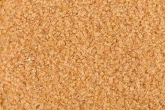 Close up of brown sugar Royalty Free Stock Photography