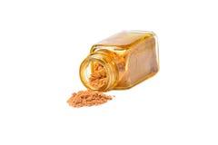Close up brown sugar. Royalty Free Stock Photos