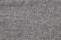 Close up of a brown tweed fabric Royalty Free Stock Photos