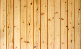 Close up on brown wood panels background Royalty Free Stock Photos