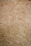 Close-up brown wool fluffy fur texture Royalty Free Stock Photos