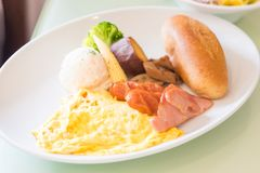 Close up brunch Stock Photography