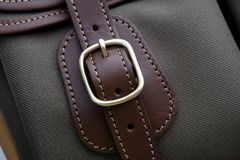 Close up of buckle bag Royalty Free Stock Images