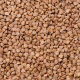 Close-up of buckwheat groats background Stock Photography