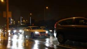 Close Up Budapest Traffic stock footage