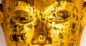 Close up Buddha face Royalty Free Stock Photo