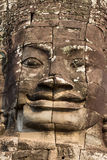 Close up of buddha face Royalty Free Stock Images
