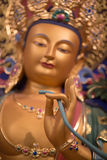 Close up of a buddha in Hangzhou Royalty Free Stock Image