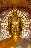 Close up buddha image. Royalty Free Stock Image