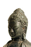 Close up on Buddha's head Stock Photography