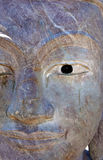 Close-up of a Buddha statue with eye and nose Royalty Free Stock Photo