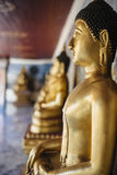 Close-up of Buddha Statue Royalty Free Stock Images