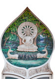Close up of buddha statue. Stock Image