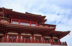 Buddha Tooth Relic Temple at China town, Singapore Stock Photos