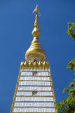 Close up buddhism pagoda Stock Photography