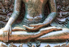 Close up buddhist statue Stock Photo