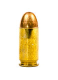 Gun Bullet isolated Royalty Free Stock Photos