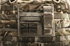 Close up of bulletproof vest Stock Images