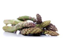 Close up of bunch of asparagus Royalty Free Stock Photos