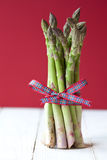 Close up of a bunch of asparagus Royalty Free Stock Photography
