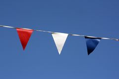 Close up of bunting Royalty Free Stock Photography