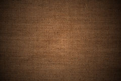 Close up of burlap fabric Royalty Free Stock Photography