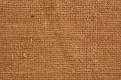Close up of burlap texture Royalty Free Stock Photos