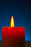 Close up of a burning candle Stock Photos