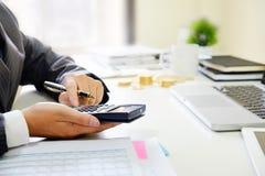 Close up business calculate finance data document paper . About Close up business calculate finance data document paper with calculator stock image