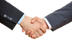 Close up of business handshake Royalty Free Stock Photo