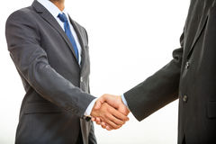 Close up of business handshake Stock Photography